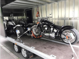 Mammut Cargo Transporte - Motorrad Transport, Bike Transport